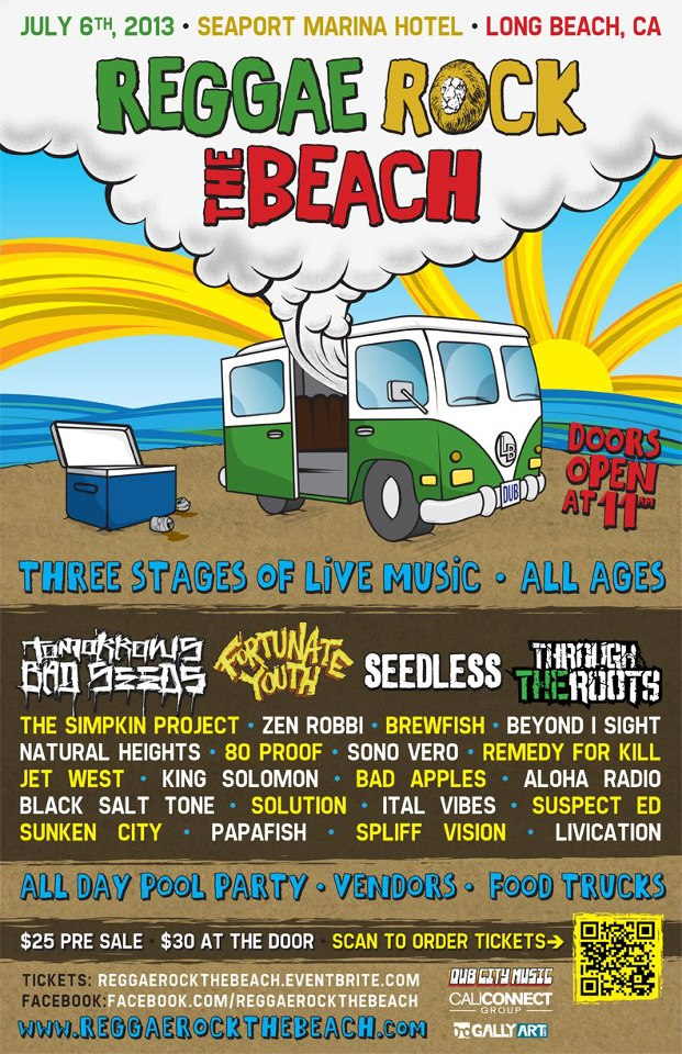 Reggae Rock The  Beach 5/26/13